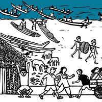 An Indian Beach Art Activity Workshop