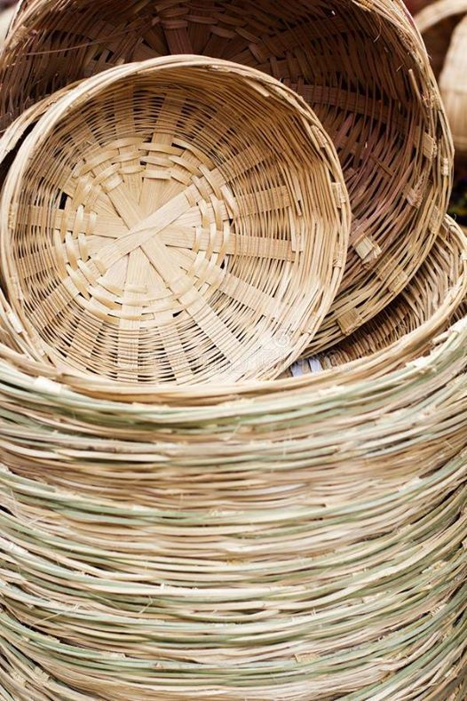 Bamboo Basket Weaving Workshop.