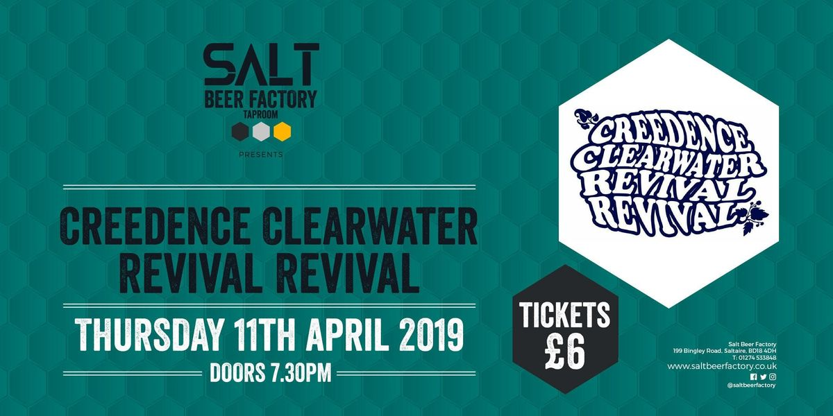 Creedence Clearwater Revival Revival at Salt Beer Factory