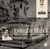 Enrique Seijas of Matilde Cigars wBench Brewing at VCC&ampB Burl