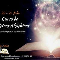 Curso de Registros Akshicos. 22 y 23 de Julio 2017.