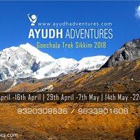 Ayudh Adventures Goechala Pass Trek 2018 Batches
