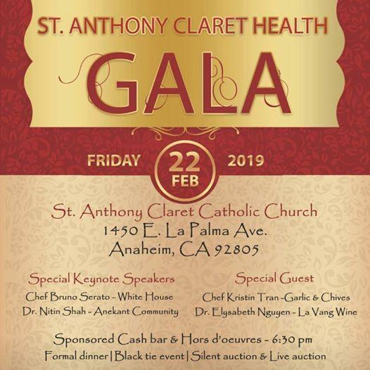 St. Anthony Claret Health Gala