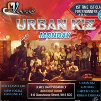 Urban Kiz Piccadilly  Beg 1st time 1st class Free