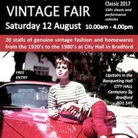 Rose &amp Brown Vintage Fair at Bradford Car Classic 2017