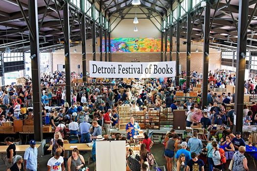 3rd Annual Detroit Festival of Books FREE