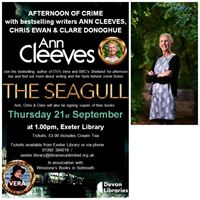 Afternoon of Crime with Ann Cleeves Clare Donoghue &amp Chris Ewan
