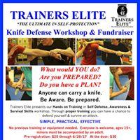 Knife Defense Workshop &amp Fundraiser