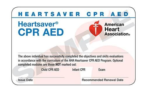 American Heart Association CPR class in Redwood City at Redwood City ...