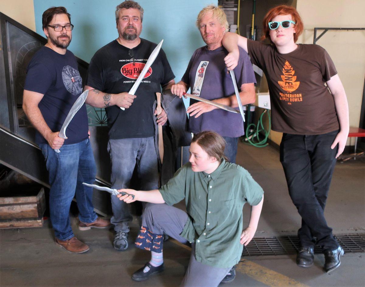 Bronze Age Sword Casting Class