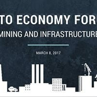 NATO Economy Forum Mining and Infrastructure