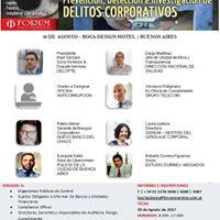 4 Conferencia Prevencin de Delitos Corporativos 2017
