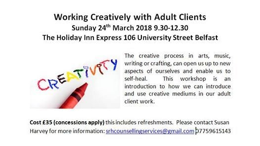 Working Creatively with Adult Clients