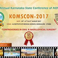 First call brochure of 7th Karnataka State Annual Conference. KOMSCON-2017.
