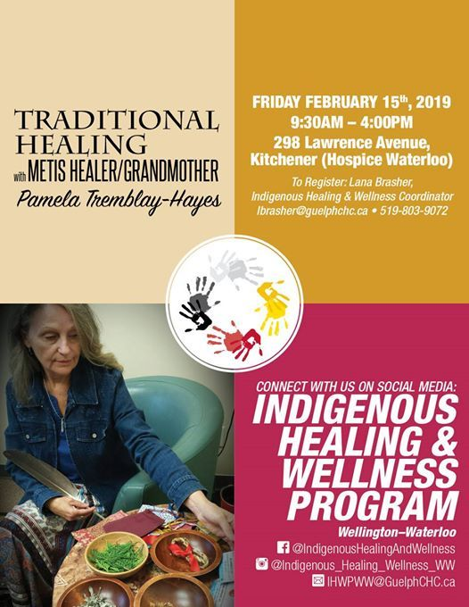 Traditional Healing with Pamela Tremblay-Hayes
