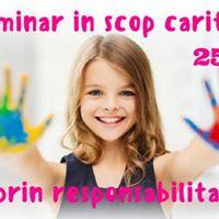 Seminar in scop caritabil