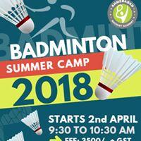 Summer Camp 2018 - Badminton