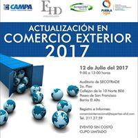 Actualizacin en Comercio Exterior 2017