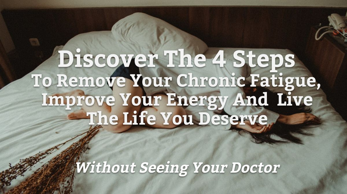 Millions of CFSME sufferers would benefit from knowing this..FREE