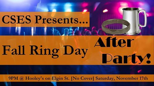 Fall Ring Day After Party 2018