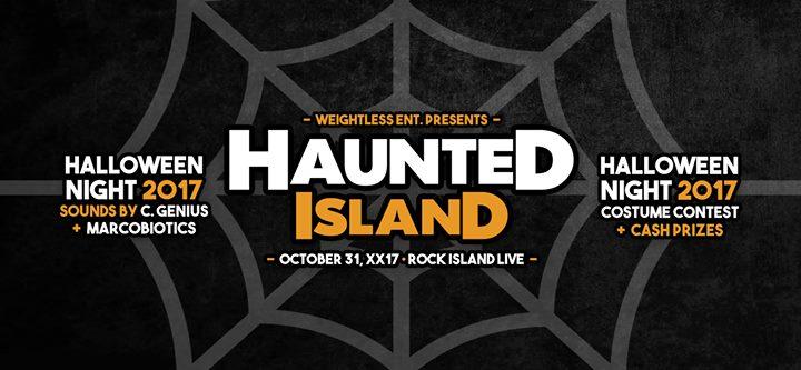halloween night at rock island