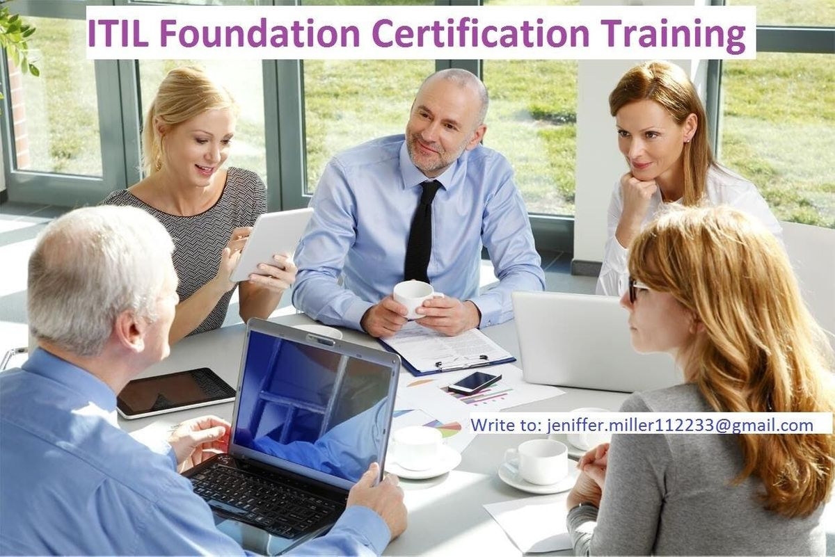 Itil Foundation Classroom Training In Chicago Il Chicago