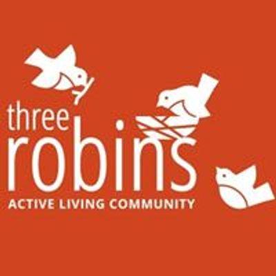 Three Robins Red Deer