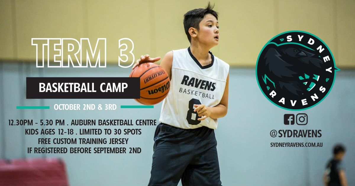 Term 3 Basketball Camp Sydney Ravens At Auburn Basketball