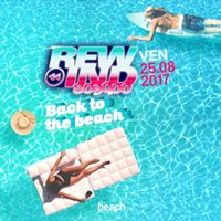 Venerdi 25 Agosto  Back to The Beach  Rewind 80.90.00