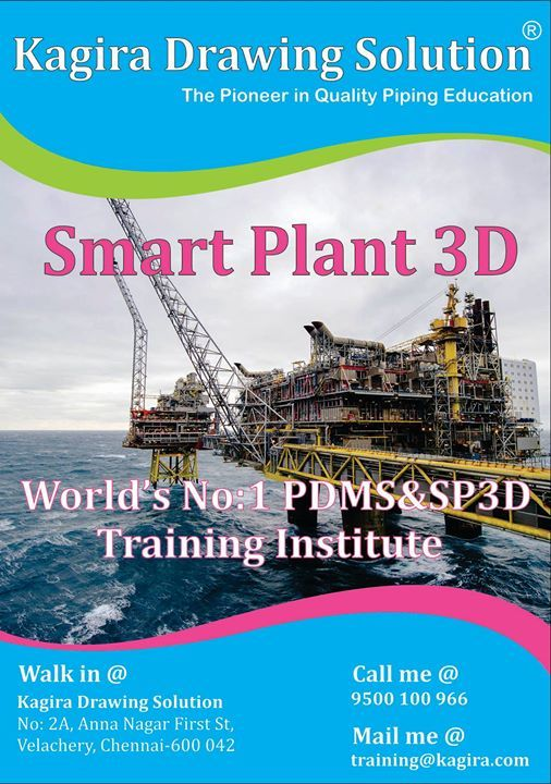 SP3D Course (Smart Plant Training) at Kagira Drawing