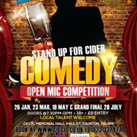 Stand Up For Cider presents Comedy Night