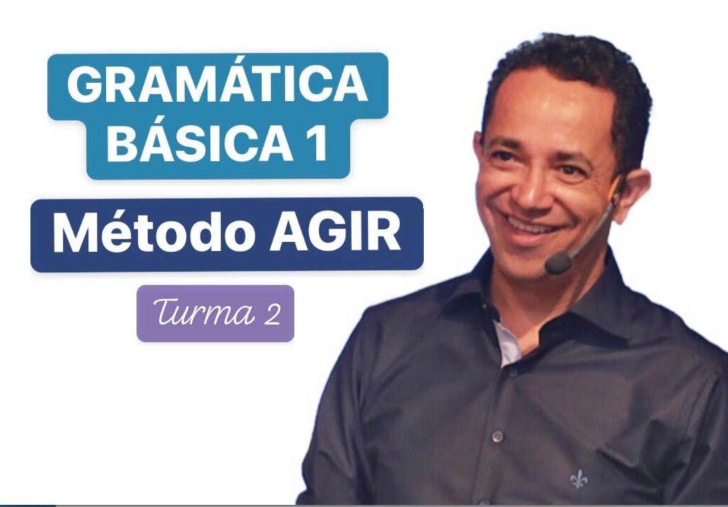 GRAMTICA BSICA 1 - MTODO AGIR - Prof. Marcos Pacco