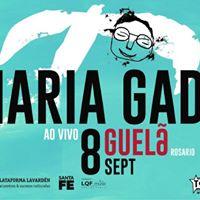 Maria Gad  tour guel ao vivo  Rosrio - ARG