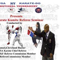 USA National Karate Federation Kumite Referee Seminar