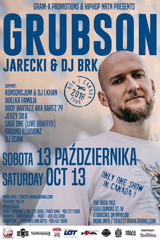 Grubson - koncert w Toronto