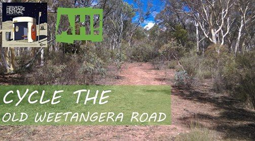 Cycle the Old Weetangera Road Trail