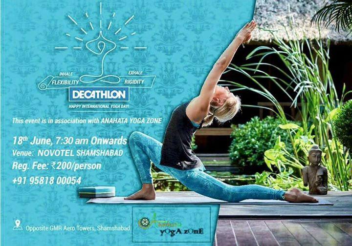 Decathlon International Yoga Day