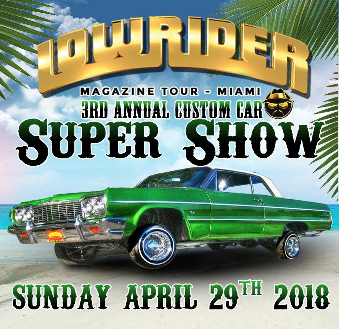Miami Lowrider Car Show At MiamiDade County Fair Exposition Inc - Lowrider car show san francisco 2018