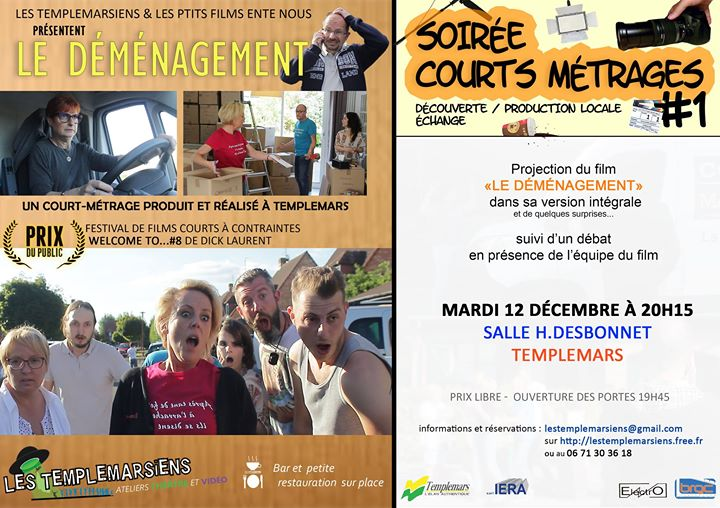 Soire Courts Mtrages 1  Templemars - Le Dmnagement