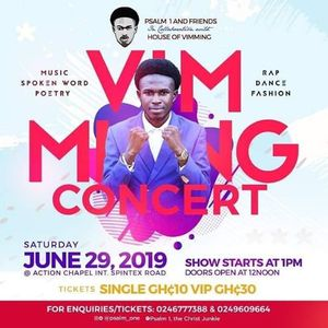 17 concert events in Accra, Today and Upcoming concert