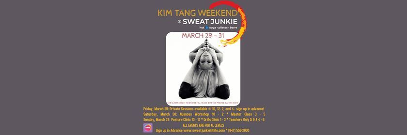 8e8f2e2b98a Kim Tang at Sweat Junkie Hot Yoga & Hot Pilates | Evanston