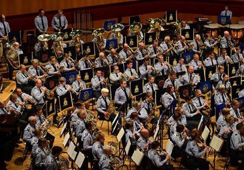 Massed RAF Voluntary Bands - Dancing in the Air
