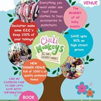 Cheeki Monkeys Baby &amp Childrens Event - Grantham