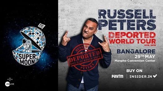 Russell Peters Deported World Tour LIVE in Bangalore  Supermoon