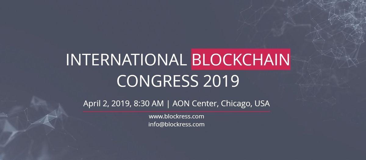 International Blockchain Congress 2019