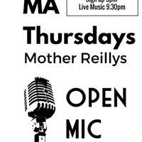 Open Mic Singer Song Writer Night