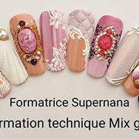 Formation nail art  Nice