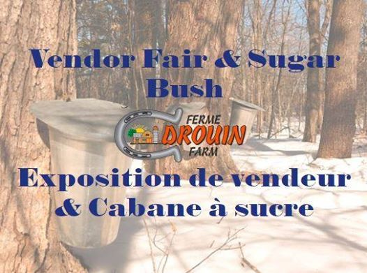 Vendor Fair and Sugar Bush