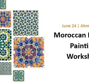 Moroccan Mosaic Painting Workshop