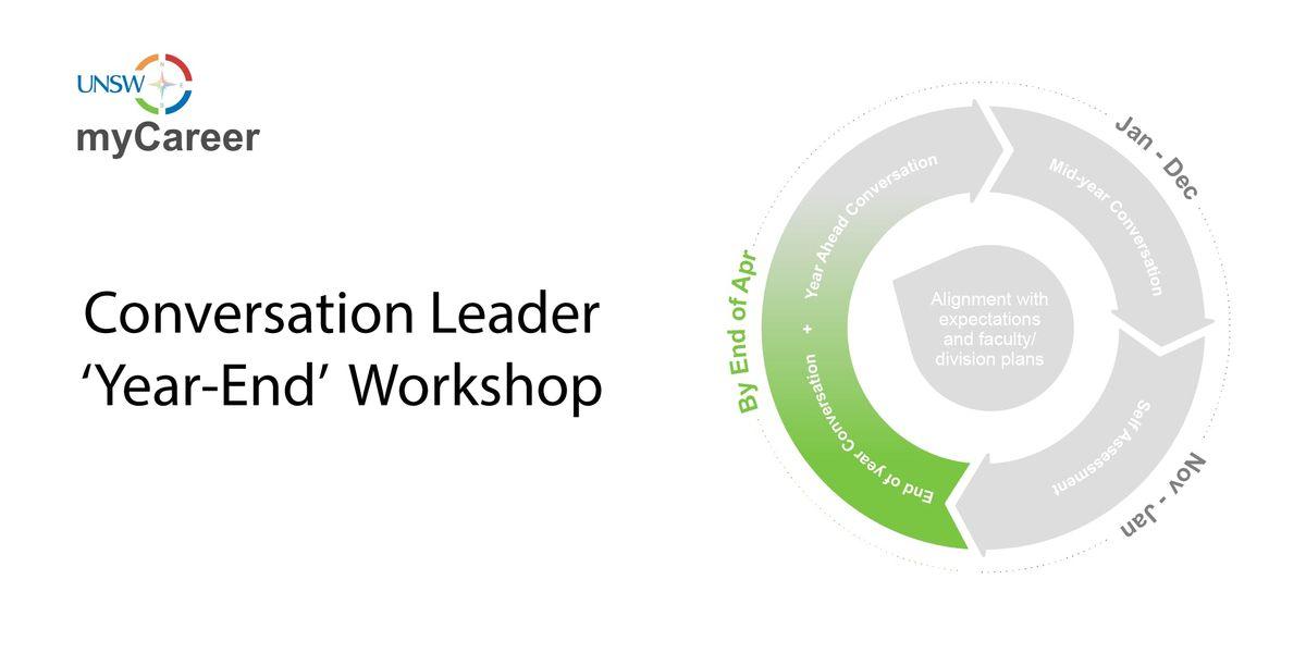 UNSW myCareer Year End  Conversation Leader Workshop